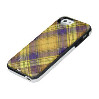 Madras Pattern iPhone SE/5/5s Battery Case