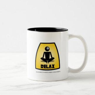 MAEM RELAX Two-Tone COFFEE MUG