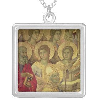 Maesta: Saints, , 1308-11 Pendant