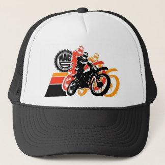 Mag 5 - Yellow, Orange, Black Attack Trucker Hat