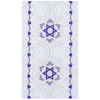 Magen David ~ Bell and Pomegranate Tablecloth