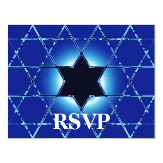 Magen Gimel Bar/Bat Mitzvah RSVP Card