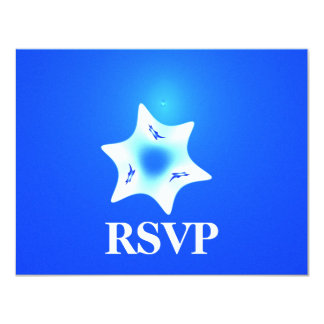 Magen Lavan Bar/Bat Mitzvah RSVP Card