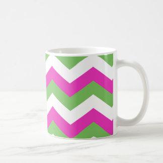 Magenta Chevron Mug