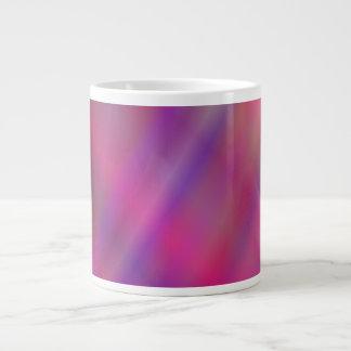 Magenta colorful abstract large coffee mug