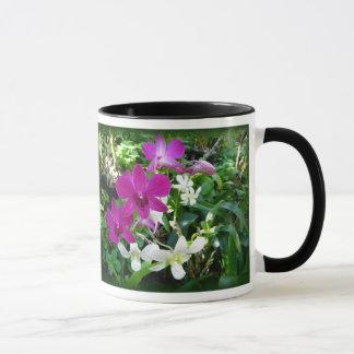 Magenta Orchids Mug