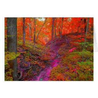 Magenta Path Card