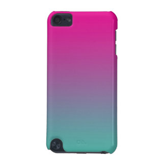 Magenta Purple & Teal Ombre iPod Touch (5th Generation) Cases