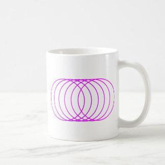 Magenta Rings Coffee Mug