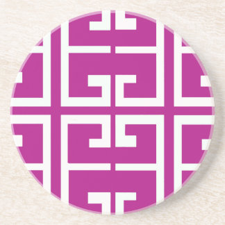 Magenta Spanish Tile Coaster