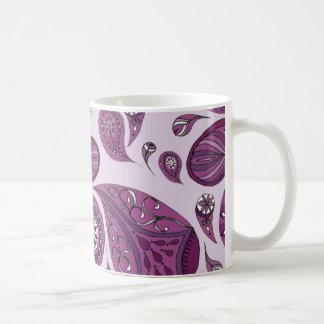 Magenta Teardrops Mug