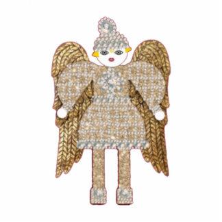 Magestic Martzkin Angel Ornament Photo Sculpture Decoration