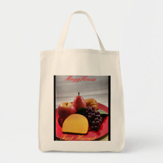 MaggHouze First Harvest Grocery Tote