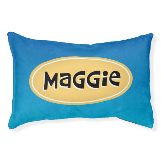Maggie Personalized Pet Bed