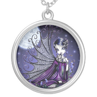 """Maggy"" Gothic Moon Fairy Necklace"
