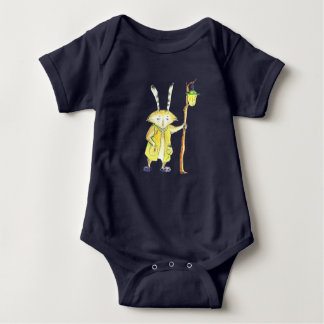 Magic Animal with Lantern baby bodysuit