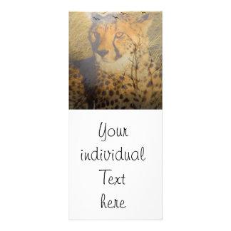 Magic Animals Cheetah Rack Card Design