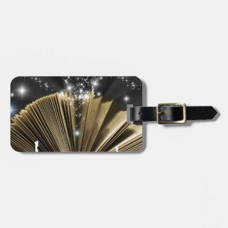 Magic Book Luggage Tag