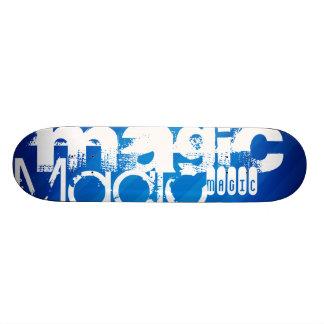 Magic, Magician; Royal Blue Stripes Skate Decks