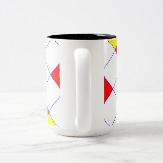 Magic Squares Two-Tone Coffee Mug