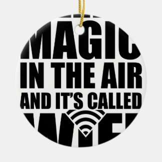 Magic wifi christmas ornament