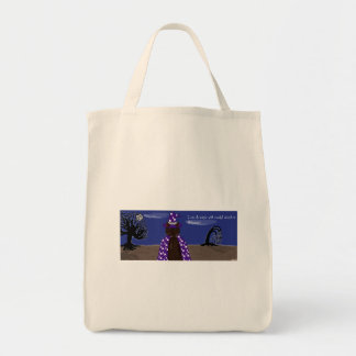 Magic with Persnickety Grocery Tote Bag