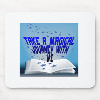 Magical Book Mouse Pad
