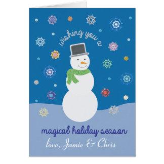 Magical Holiday Season Card