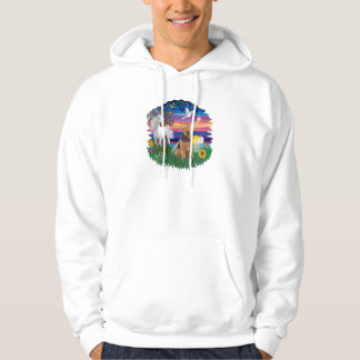 Magical Night - Airedale #1 Hoodie