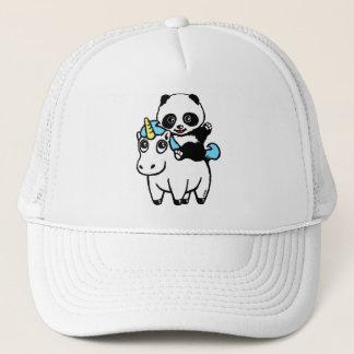 Magically cute panda trucker hat