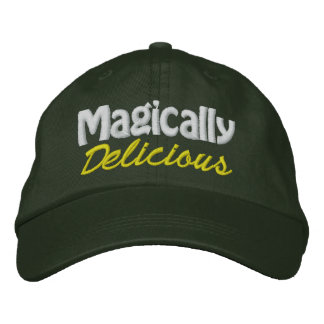 Magically Delicious - CUSTOMIZABLE! Embroidered Hats