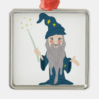 Magician Christmas Ornament