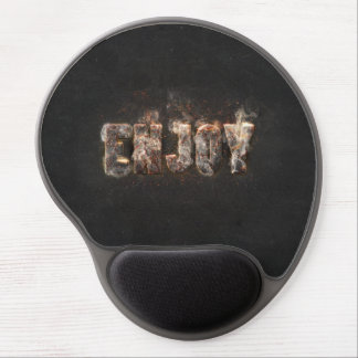 Magma Effect Gel Mouse Pad