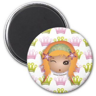 "Magnet ""Miss Princess"" - Collection Kiwi Fraud"