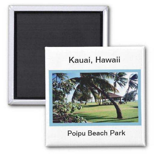 Magnet-Poipu Beach Park, Kauai, Hawaii