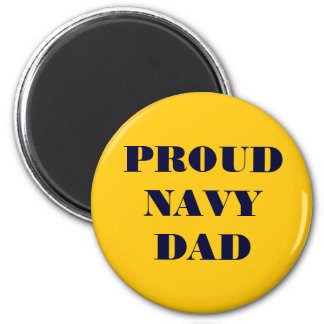 Magnet Proud Navy Dad Refrigerator Magnet