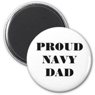 Magnet Proud Navy Dad Refrigerator Magnets