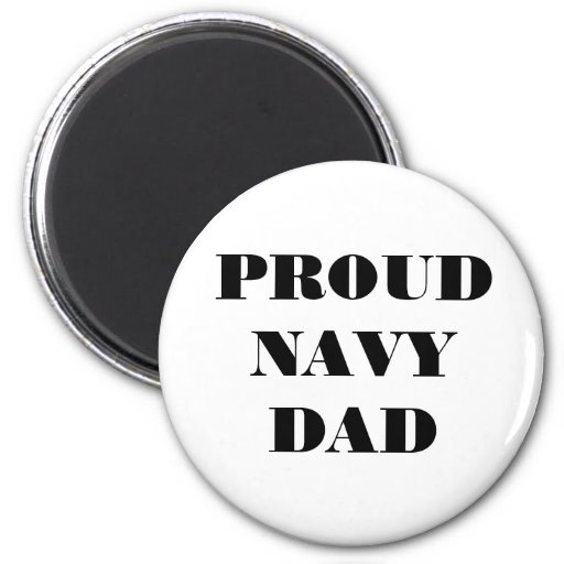 Magnet Proud Navy Dad Refrigerator Magnets