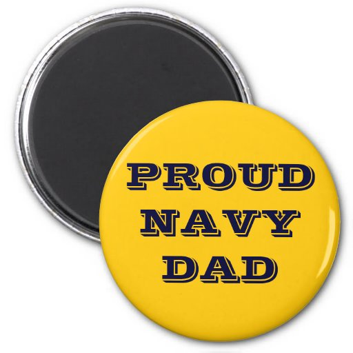 Magnet Proud Navy Dad Magnets
