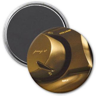 Magnet, Pump it UP! 7.5 Cm Round Magnet