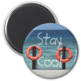 Magnet, Stay Cool 6 Cm Round Magnet