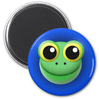 magnet with animal: frog