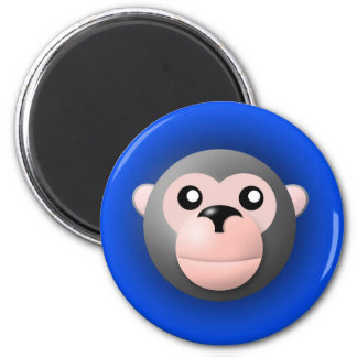 magnet with animal: monkey