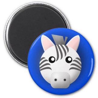 magnet with animal: zebra
