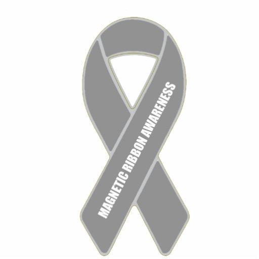 Magnetic Ribbon Awareness Photo Cut Outs