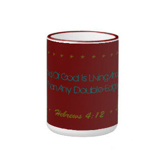 Magnificent Mug Living and active God verse