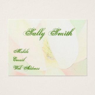 Magnolia design elegant business card