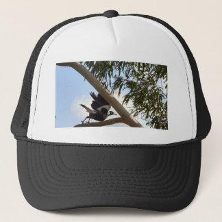 MAGPIE IN FLIGHT RURAL QUEENSLAND AUSTRALIA TRUCKER HAT