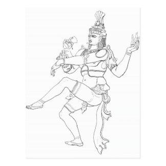 Mahadeva Postcard