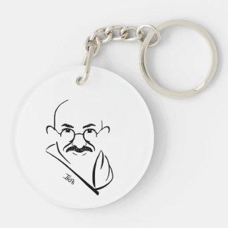 Mahatma Gandhi Keychain